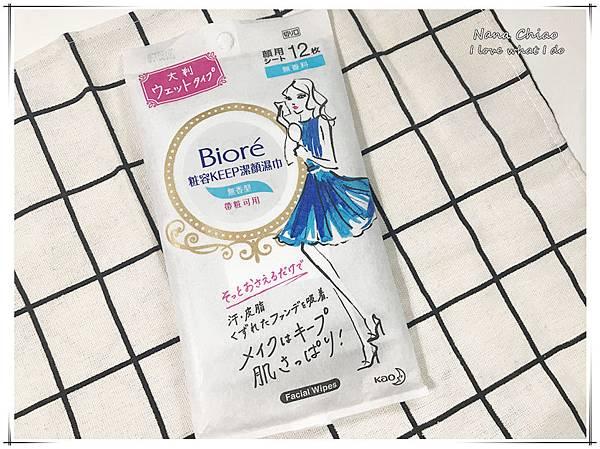Bioré粧容KEEP潔顏濕巾01