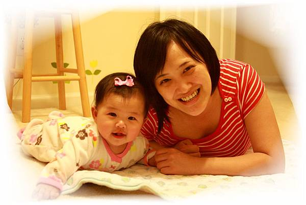 Lena pea and mom