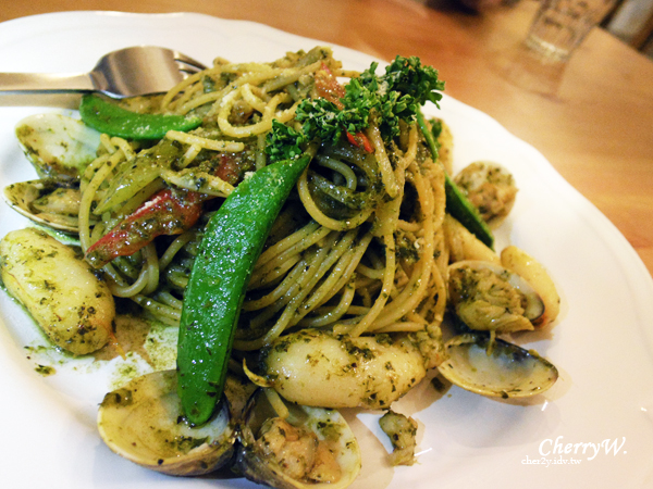 瑞彼特早午餐-蛤蠣蟹肉義大利麵02