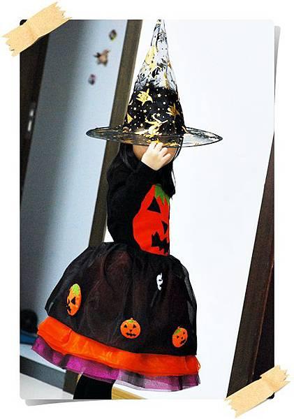 縫紉設計作品~ 萬聖節服裝!澎裙+衣服。