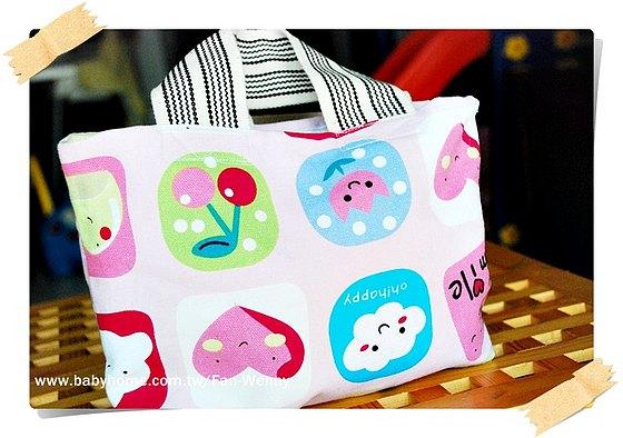 粉紅小提包