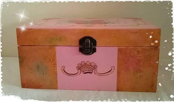 玫瑰置物盒正面