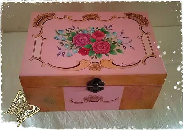 玫瑰置物盒整體