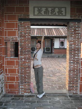 2008 宜蘭之旅 傳藝中心 搆不到