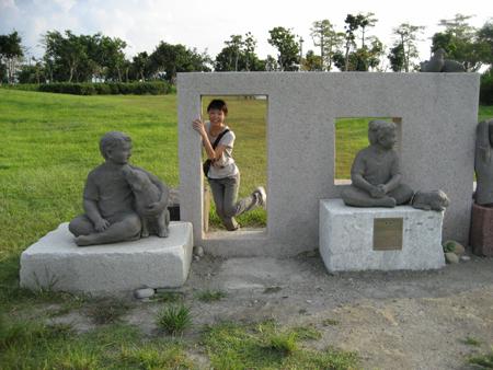 2008 宜蘭之旅 傳藝中心 跟石人一起