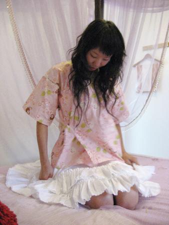 2008 宜蘭之旅 蘭陽風情民宿 整理衣服