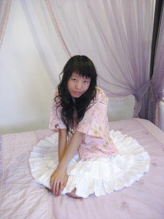 2008 宜蘭之旅 蘭陽風情民宿 圓裙