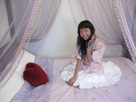 2008 宜蘭之旅 蘭陽風情民宿 抓頭髮