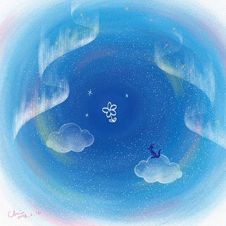 完美情人 Perfect lover./2018.02.16/數位粉彩 Digital Pastel