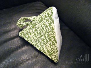 綠文字粽子包