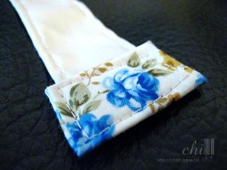 藍玫瑰肩杯扁包