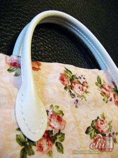 粉玫瑰手提袋