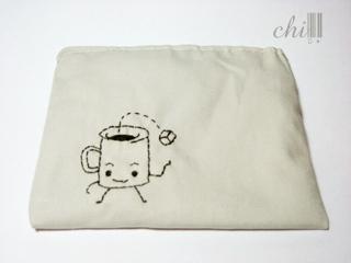 咖啡「愔」零錢包
