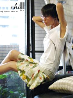 南陽風皺摺短裙