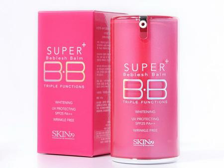 Skin79 BB CREAM 桃紅煥采三效BB霜