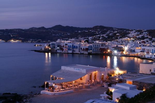 希臘的日落