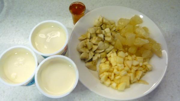 水果優格材料2
