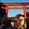 京都圓山公園一本枝垂櫻-夜櫻 (27)