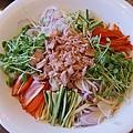 海霸王懷舊料理-和風鮪魚沙拉 (1)