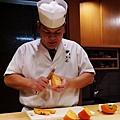 黑杉壽司處-水果-柿子 (1)
