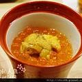 黑杉壽司處-海膽鮭魚卵茶碗蒸 (1)