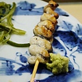 黑杉壽司處-鹿兒島鰻魚鹽燒 (1)