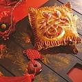 納福栗子千層酥餅