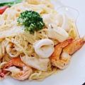 酷子-明太子海鮮義大利麵 (1)