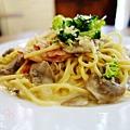 酷子美式餐廳-奶油培根義大利麵 (3)