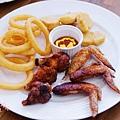 酷子美式餐廳-匈牙利辣雞翅炸物拼盤 (3)