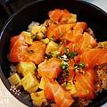 德壽司-商業午餐$580-特製鮭魚井 (1)