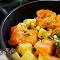 德壽司-商業午餐$580-特製鮭魚井 (2)