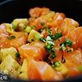 德壽司-商業午餐$580-特製鮭魚井 (8)