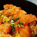 德壽司-商業午餐$580-特製鮭魚井 (9)