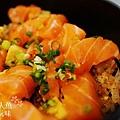 德壽司-商業午餐$580-特製鮭魚井 (10)