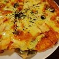 金色三麥-蝦仁鮭魚PIZZA (4)