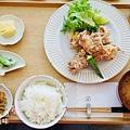 小器食堂-龍田揚雞套餐 (1)
