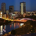 大阪帝國飯店-ROOM外夜景 (13)