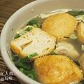 盛園絲瓜小籠湯包-油豆腐冬粉 (2)