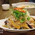盛園絲瓜小籠湯包-山東燒雞 (4)