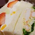 SAERA三明治專賣咖啡館-外帶-水果拼鱈場蟹 (2)