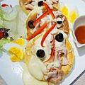 LeTAO Taipei - 燻雞肉厚鬆餅沙拉 (12)