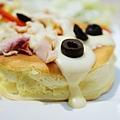 LeTAO Taipei - 燻雞肉厚鬆餅沙拉 (10)