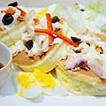 LeTAO Taipei - 燻雞肉厚鬆餅沙拉 (8)