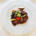 大地酒店喜歡廳午餐牛排 (2)