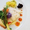 大地酒店喜歡廳午餐-魚排 (4)