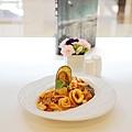 大地酒店喜歡廳午餐-義麵 (1)