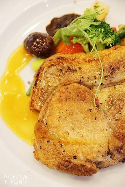 大地酒店喜歡廳午餐-豬排 (3)