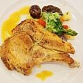 大地酒店喜歡廳午餐-豬排 (4)
