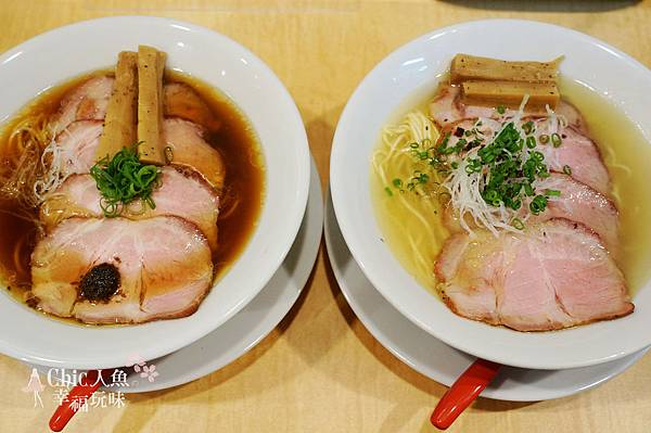 蔦ラーメン-2016東京米其林一星拉麵店-松露醬拉麵 (1)